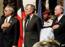 Bush refuses to say pledge!