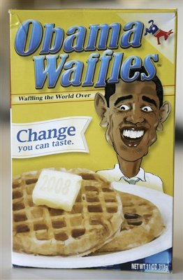 Right wing values voters bought and sold Obama Waffles at their convention.